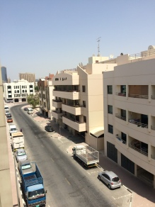 View from the apartment in Bur Dubai