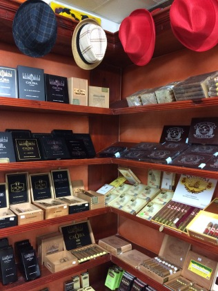 Cigars and hats is all you need in this town