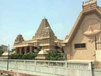 Stunning temple in the middle of it all