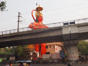 Hanuman, the monkey deity: a subtle addition