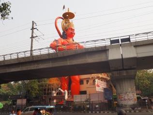Hanuman, the monkey deity: a subtle addition