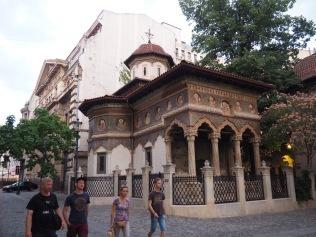 Stavropoleos Monastery near one very interesting restaurant