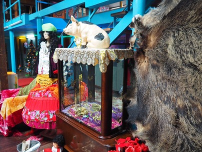 Pigs, wigs and fur: our kitsch haven