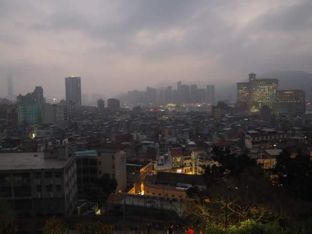 Macau at dusk