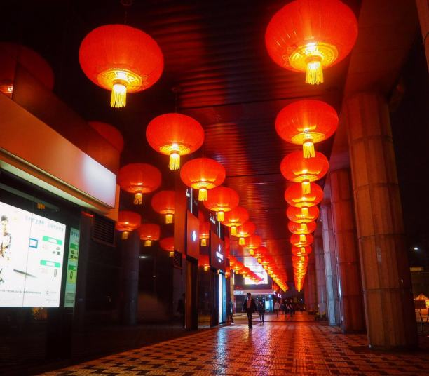 Lanterns to bring in the New Year