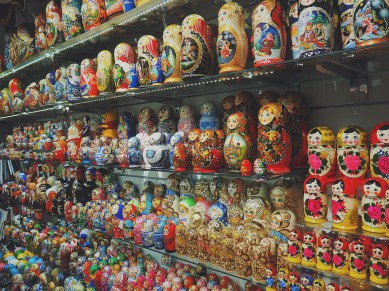 You think that's a lot of Russian dolls? Just think of how many you can't see for crying out loud